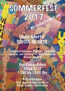 Plakat Schulfest2017